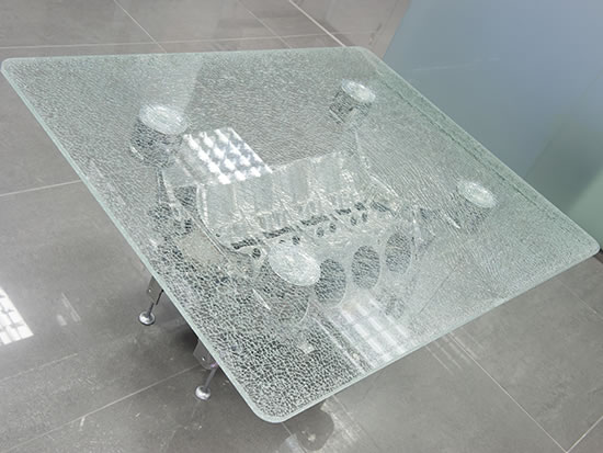 Bespoke Glass Table